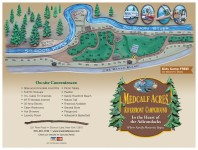 Site Map Medcalf Acres Riverfront Campground