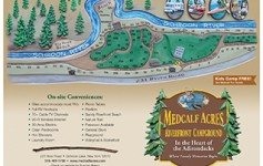 Site Map Campground